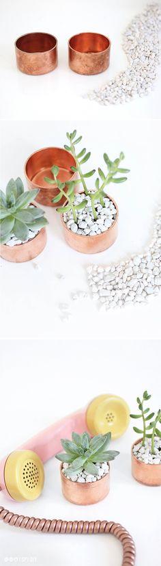 Adding Industrial Copper Glam To Your Farmhouse DIYS