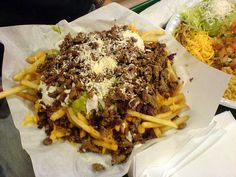 Carne Asada Fries from Lolitas Taco shop in San Diego, CA