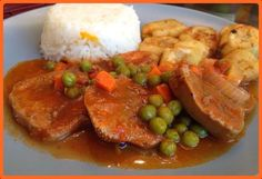 Check out our colombian restaurant menu for Miami and Kendall. Come and order Colombian fast food online for a mouth watering treat! Comida Latina, Latin Food, Spanish Food, Menu Restaurant, Mexican Food Recipes, Spices, Pork, Treats, Chicken