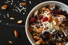 Warm Farro and Barley Cereal | KneadForFood - Food Blog Recipes