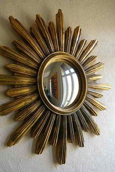 miroirs il de sorci re on pinterest sunburst mirror mirror and starburst mirror. Black Bedroom Furniture Sets. Home Design Ideas