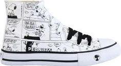 tênis de cano longo + Snoopy = perfeição