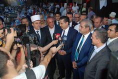 Prizren Müftülüğü ile Şanlıurfa Haliliye Belediyemizin ortaklaşa düzenlediği iftar programı için Kosova'dayız. Soydaşlarımızla Balkanlardaki Ramazan coşkusuna hep birlikte ortak olduk. [25.06.2016]