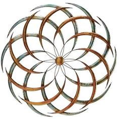 Benzara 63515 Big Bang Metal Wall Art Sculpture Decor Made of metal with silver, bronze and gold coloring with a distressed feel Free Shipping 758647635153