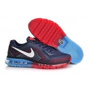 save off 5ff70 d2db3 Nike Air Max 2014 Mens Midnight Navy Cym Red and Blue Lemonade 621077 416  Half Price Nike Air Max 2014