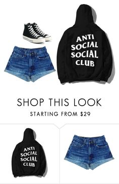 """Untitled #159"" by i0119 on Polyvore featuring Converse"
