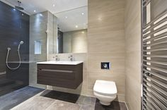 Modern shower room at 73 Great Peter Street