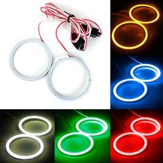 Cheap Light Source, Buy Directly from China Suppliers:                   2 pcs Car COB Bulb 12V-24V 60MM 66 LEDs Angel Eyes Halo Ring Lamp Light    Brand New!!!    Light colo