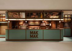 A facade resembling a Thai grocery stall disguises this restaurant in Hong Kong designed by NC Design & Architecture to look like a film set Design Set, Design Logo, Design Poster, Cafe Design, Store Design, Restaurant Logo, Thai Restaurant, Restaurant Design, Architecture Restaurant