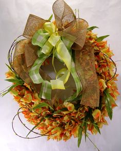 Totally Tulips Wreath