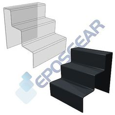 3 three tier step #cupcake muffin party #perspex acrylic plastic display #stand,  View more on the LINK: http://www.zeppy.io/product/gb/2/131839946551/