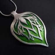 beautiful enamel pendant