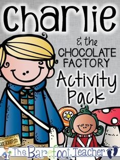 This Charlie and the Chocolate Factory Activity Pack has been created for a variety of ages and is a perfect fun pack to go along with your novel study!