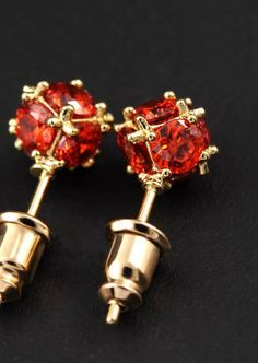 royal ruby crystal and gold globe earrings $30 + free shipping http://www.thiscounts.ca/products/UPYI5589 #thiscounts #discounts #shop #shopping #save #savings #sale #sales #deal #deals #jewelry #accessories #earrings #ruby #red #trending #fashion #onlineshopping #canada #freeshipping