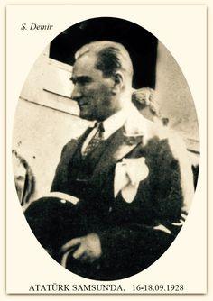 Atatürk Samsun'da. 16-18.09.1928