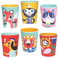 Melamine cups - Helen Dardik