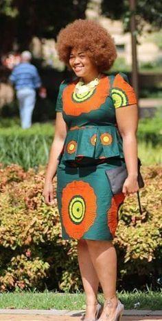 ghanaian fashion women dresses 2016 - style you 7 African Inspired Fashion, African Dresses For Women, African Print Dresses, African Print Fashion, Africa Fashion, African Attire, African Wear, African Fashion Dresses, African Women