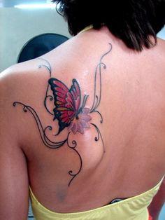 Tauben Tattoo Handgelenk Blumen Rinken Tattoo Design