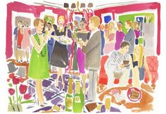 Newyearsparty by Caitlin McGauley