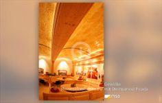 Gastronomie mit Gewölbedecke - MSD-Steinpaneel Picada - 50081