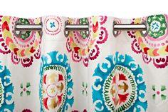 A Loja do Gato Preto   Cortinado Flores Natural @ Cortina Flores Natural #alojadogatopreto #textiles #texteis #cortina #cortinado