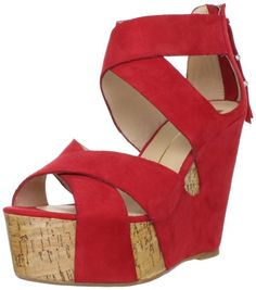 These red shoes add the perfect bit of spice to everything.