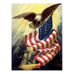Americana - Eagle and vintage flag. American Pride, American Flag, American History, American Symbols, American Spirit, American Quotes, American Veterans, American Freedom, American Soldiers