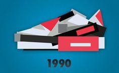 Nike Sneaker Illustrations by Jack Stocker