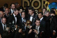 Cristiano Ronaldo no centro das atenções