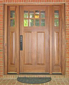 d94f8bbe1fa Custom Wood Doors Divided Lite - Doors by Design - Daphne