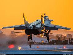 """Russian AF MiG-31 """"Foxhound"""""""