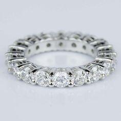 A beautiful Diamond Eternity Ring in Platinum!