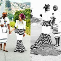 Latest 25 Traditional Xhosa Dresses Wedding For The Bride 2018 African Print Dress Designs, African Print Dresses, African Fashion Dresses, African Dress, African Outfits, African Clothes, African Prints, Xhosa Attire, African Attire