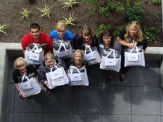 """Welcome to the Neighborhood"" kit given to YWCA Family Village Issaquah newcomers! An affordable housing community"