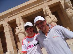 Sam und Goofy in Ägypten