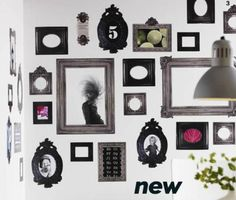 Frame decals- http://www.apartmenttherapy.com/hot-or-not-missoni-homes-polka-58557#.