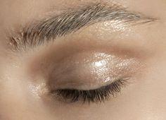 Makeup at Akris Spring 2011