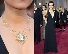 Samantha Barks Oscars Necklace