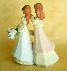 Bride and Mom - Wedding / Figurine   Get it now for $35.00 - Daughter, let all that you do, be done in Love