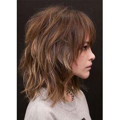 Medium Hair Styles, Curly Hair Styles, Medium Shag Haircuts, Haircut Medium, Medium Layered Hair, Medium Curly, Medium Length With Layers, Medium Length Wavy Hair, Layered Hair With Bangs