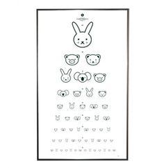 animal eye chart