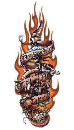 Sam Wang: Pirate Tattoo