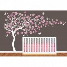 Vinyl Bella Pinterest Room Baby Wall Decals And Nursery - Custom vinyl wall decals cherry blossom tree
