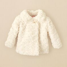 Perfect for chilly outdoor Fall and Winter photo session!!      newborn - faux-fur coat | Children's Clothing | Kids Clothes | The Children's Place