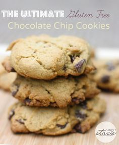 The Ultimate Gluten Free Chocolate Chip Cookie