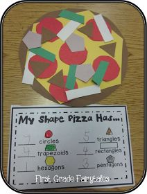 Cute shape activity for kids. Math Lessons, Preschool Lessons, Kindergarten Activities, Kindergarten Shapes, Math Lesson Plans, Kindergarten Art Projects, Preschool Cooking Activities, Kindergarten Orientation, First Grade Activities