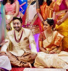 Beautiful South Indian Wedding in USA, Telugu Wedding in America, Brilliant Telu. Indian Wedding Deco, Indian Wedding Fashion, South Indian Weddings, Indian Bridal, Telugu Brides, Telugu Wedding, Desi Wedding, Wedding Ideas, Wedding Outfits For Groom