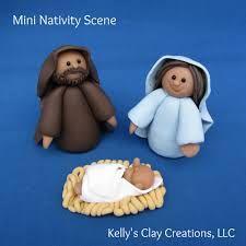 clay nativity scene - Google Search
