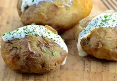 Baked Potatoes from the Crock Pot