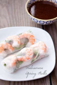 Recipe // vietnamese spring rolls | Armelle Blog